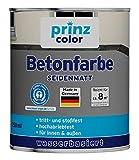 prinzcolor Premium Betonfarbe Betonbeschichtung Bodenfarbe Bodenbeschichtung Anthrazitgrau 0,75l
