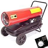 30kW Heizkanone Digital Bauheizer 55437 Diesel Heizung Ölheizgerät Bautrockner AWZ