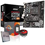 Memory PC Aufrüst-Kit Bundle AMD Ryzen 5 3600 6X 3.6 GHz, 16 GB DDR4, A320M-A Pro Max Mainboard, komplett fertig montiert inkl. Bios Update