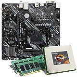 AMD Ryzen 5 PRO 4650G / ASUS Prime A520M-K Mainboard Bundle / 16GB   CSL PC Aufrüstkit   AMD Ryzen 5 PRO 4650G 6X 3700 MHz, 16GB DDR4-RAM, GigLAN, 7.1 Sound, USB 3.1   Aufrüstset   PC Tuning Kit