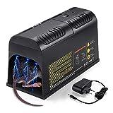 Elektronische Rattenfalle,Mäusefalle Elektrischer Mäusekiller Mausefalle Rattenköderstation für für Mäuse Kastenfalle für Garten Haus